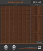 Chocolate Pattern 1.0 by Sed-rah-Stock