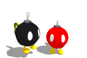 MMD NC: Bob-omb BETA DL by Purple-Rage