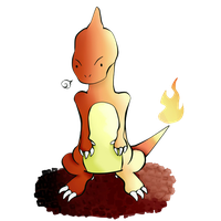 Pokemon 05- Charmeleon by Naomi-Chwan