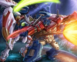 Gundam Prime C Dubbkitari5 Vic55b Colors by vic55b