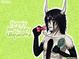 Ulquiorra's birthday 2012 by Vaniri