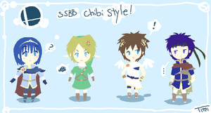 SSBB CHIBI STYLE D8 by Timidemerald