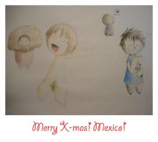Merry X-mas, Mexico by Yuleen75