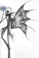 Jack Skellington - Torn Wings by chanchan