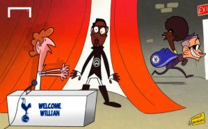 Will.I.Am     Mourinho sneaks in to gazump Spurs by OmarMomani