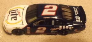 Late 1998-1999 Rusty Wallace #2 Miller Lite car by Chenglor55