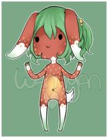 Strawberry Bunny adopt [CLOSED] by WanNyan