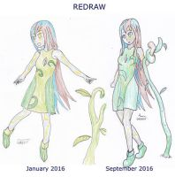 Redraw : Aisha by LuxiaAmpere