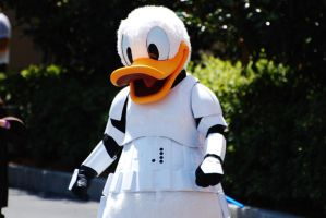 Storm Trooper Donald by CaitrinXlXAnneliese