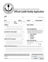 Cuddle Buddy Application by Ebrithil