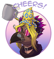 Cheers  2 mill by hibbary