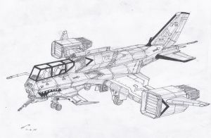 Ca-52 Tigershark,by rafenrazer by contrail09