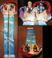 Opassa Beach Incense Stick Holder by DancingVulture