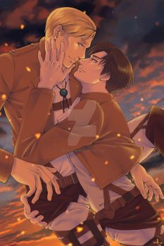 Erwin x Levi by peace-of-hope