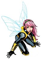Pixie in color by Lightning-Powered