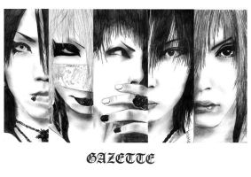 The GazettE by Whity85