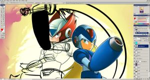 Rockman  X preview by zanahoriaman