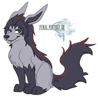 FFXIII - Fang Mightyena by koisnake
