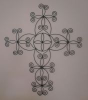 Black Cross by Sannalee01
