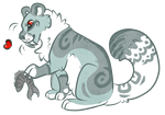 saber tooth leopard adoption - closed by ll-rose-lladopts