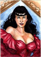 Bettie Page 1022 by Csyeung