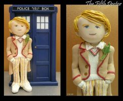 Clay Fifth Doctor by vandonovan
