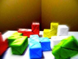 Soma Cube..Or is it 3D Tetris? by PrinceHorizon