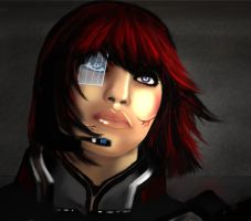 Infiltrator-Close up by xpiratical