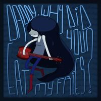 Marceline 'Fries Song' - Adventure Time Fan Art by squar3x