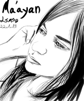 Portrait - Ma'ayan S. by LilachSigal