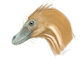 Velociraptor Speedpaint by LlamaTHEDragon