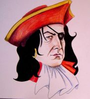 Pirate Snape by tripperfunster