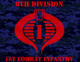 Cobra 1st INF Banner by viperaviator