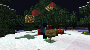 Merry Christmas 2012 from Rav in MC by RavTheHedgehog