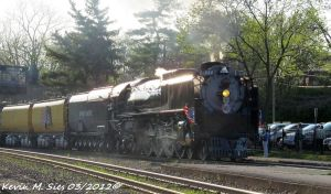 UP 844 and UP 2010 lead The Shiloh Limited by EternalFlame1891