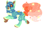Lava Lamp Faucet Hound AUCTION OPEN by StoneWarrior-101