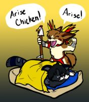 Arise Chicken by BlueBandanaJake