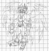 Sketch: Lucemon Zeo by Miracle-Fox
