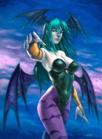 Morrigan color by LucaStrati