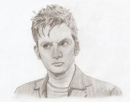 The 10th Doctor by The-Ribboned-One