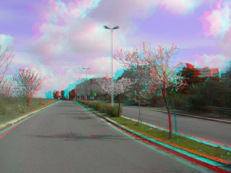 Rome 32 3D Anaglyph by yellowishhaze