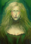 green lady by harteus