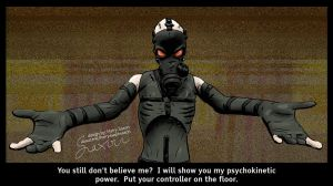 Metal Gear Solid Psycho Mantis by Asaph