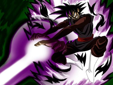 BlackGoku by SkarCatura