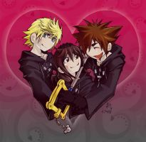 KH - Together - 4 Franzy by AoiNoKitsune