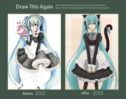 Draw This Again Miku by Amika-theonenonly