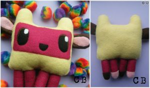Little Sheep Monster Plushie by TheChgz