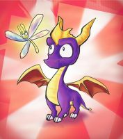 Spyro the Dragon by Kna