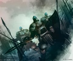Armored Soldiers by Shev14th