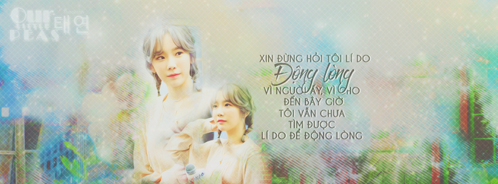 [011216] KIM TAEYEON QUOTE COVER by Thaolinhh